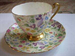 fine bone china tea cup and saucer